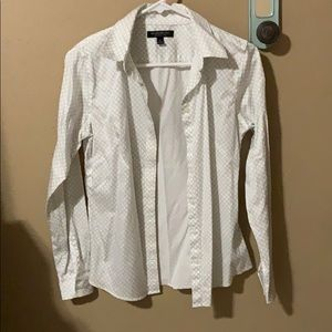 Banana Republic Non Iron Fitted Shirt - 6
